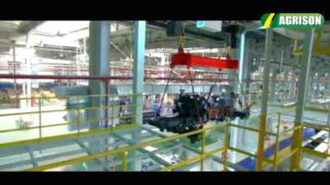 Agrison Video Where are Agrison tractors made manufacturing of agrison tractors CDF range