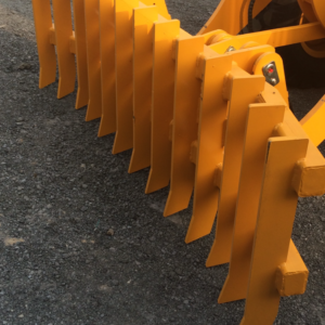 Agrison wheel loader attachment - front rake