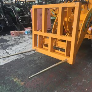 Agrison wheel loader fork attachment 1