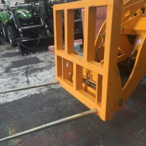 Agrison wheel loader forklift attachment 2