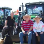 Sol and Scaife 100hp cdf tractor agquip 2017 field day agrison tractors site