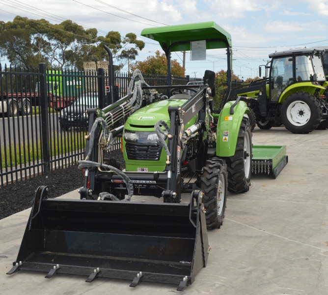Agrison 40hp tractor | 40hp CDF | Compact tractor | Hobby ...
